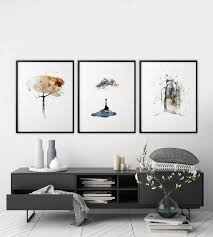 <b>Scandinavian</b> art <b>Nordic decor Nordic</b> style Abstract trees | Etsy