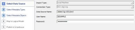 the connection type uses a set of libraries installed during obiee however the full set of oci libraries are needed while accessing to the database obiee administration