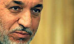Hamid Karzai is said to be shocked by the massive leak of classified military documents, but to be hoping further allegations of links between Pakistan and ... - hamid-karzai-001