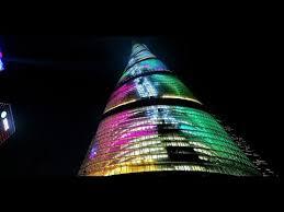shanghai tower march 2015 update amazing lighting youtube amazing lighting