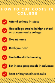 ways to pay for college out going into student loan debt this saves you money by cutting out common expenses such as gas car insurance parking passes parking tickets