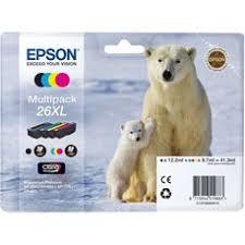 <b>Картридж Epson C13T26364010</b> набор XL, № 26XL оригинальный