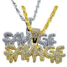 Sameno Men's Hip-hop <b>European and American</b> Full Diamond ...