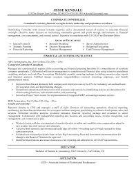 controller resume example  corporate controller resume sample    corporate controller resume sample