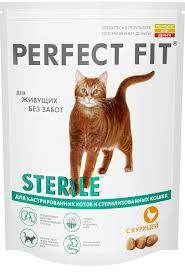<b>Корм для кошек</b> Перфект Фит для кастрированных и ...