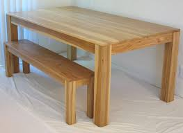 Fitted Dining Room Furniture Gus Modern Chunk Dining Table Natural Oak Modern Dining Tables
