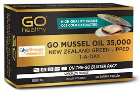 MUSSEL 35,000 NEW ZEALAND GREEN LIPPED ... - GO Healthy