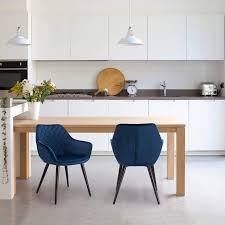 WOLTU <b>Dining Chairs</b> Set of <b>2 pcs</b> Kitchen Counter Chairs Lounge ...