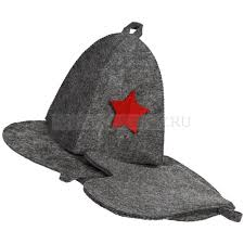 <b>Банные</b> наборы из полиэстера <b>GENERAL</b>: шапка со звездой ...