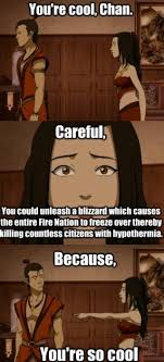 Azula bad pick up line meme - Avatar: The Last Airbender Photo ... via Relatably.com