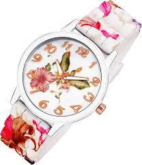 COSMIC <b>HOT SALE Fashion</b> Women Watches Rose Flower Printed ...