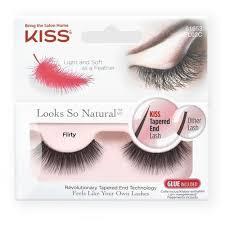 Kiss <b>Накладные ресницы Looks</b> so Natural Flirty черный ...