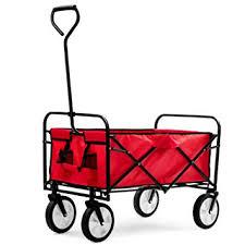 Fnova <b>Garden</b> Cart Foldable Pull Wagon <b>Hand</b> Cart <b>Garden</b> ...