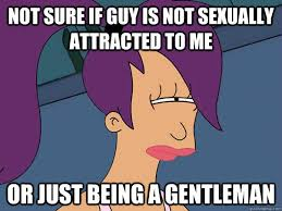 Not sure if guy is not sexually attracted to me or just being a ... via Relatably.com