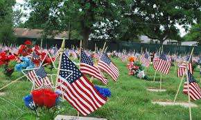 stories stry us part 6 some of the 17 000 flags at springfield national cemetery each planted by gary edmondson and