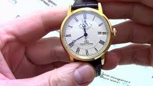 <b>Часы Orient EL09002W</b> - видео обзор от PresidentWatches.Ru ...