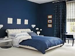 dark blue bedroom walls