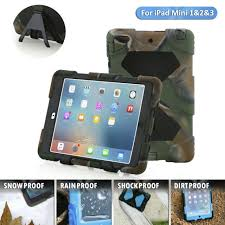 Kids Shockproof <b>Hybrid</b> Case Cover For iPad Mini 1/2/3 + <b>Free Gifts</b> ...