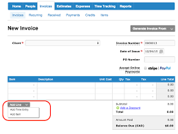 how do i change the column headings on my invoices estimates new invoice add line