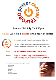 river community church telford where the river flows invitation to prayer central