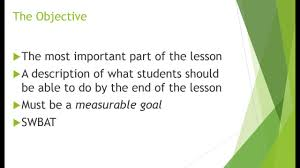 how to write a lesson plan objective how to write a lesson plan objective
