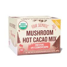 <b>Mushroom</b> Hot <b>Cacao mix with</b> Cordyceps   Four Sigmatic - Goop ...