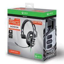<b>Plantronics</b>® <b>RIG 100HX</b> Gaming Headset - Xbox One