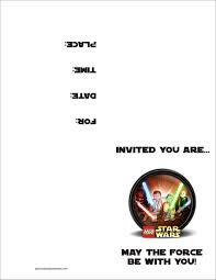 star wars birthday invitations printable invitations ideas star wars birthday invitations printable
