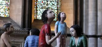 """Sono della brasiliana Ana Maria Pacheco e sono uno degli eventi del """"Salisbury International Arts Festival"""". 25 maggio 2012 - ap-sculture"""