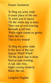 dream variations a poem by langston hughes poems dream variations a poem by langston hughes