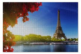 <b>Пазл 73.5</b>×<b>48.8 см</b> (1000 элементов) Эйфелева башня #1336932 ...