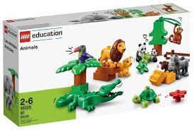 <b>Конструктор LEGO Education PreSchool</b> DUPLO 45029 Животные ...