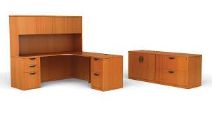 wooden corner office desk l shaped desk with hutch bush office furniture amazon