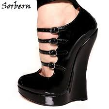 Sorbern 18CM Women Pumps <b>Plus Size 36 46</b> Custom Made Color ...