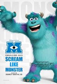Póster Monsters University (2013)