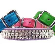 Regal Beauty <b>Sweet Pink</b> Leather Dog Collar | Dogs | Bling dog ...