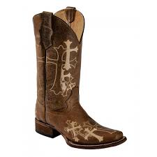 cowboy boots from twisted x justin ariat boot city corral circle g ladies cowboy boots distressed brown beige cross embroidery