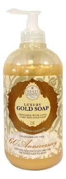 Купить <b>жидкое мыло 60th Anniversary</b> Luxury Gold Soap 500мл ...
