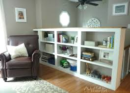 bookcase in living room