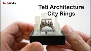 Teti Architecture City <b>Rings</b> - <b>Miniature New</b> York City Unboxing ...