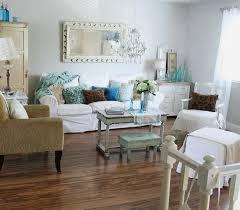 shabby chic small living room ideas chic small white home