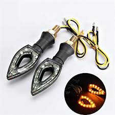 OXMART Motorcycle Led Turn Signals 2PCS ... - Amazon.com