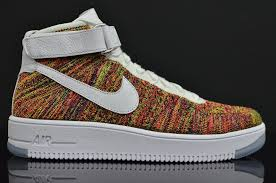 multicolor nike air force 1 flyknit 817420 700 13 air force 1 flyknit