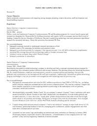 resume objective examples resume cv resume objective examples 9