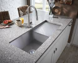 undermount kitchen sink stainless steel:  images about sinks with drainboards on pinterest double bowl kitchen sink stainless steel counters and stainless steel