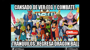 Dragon Ball Super': Memes por el regreso del anime a la televisión ... via Relatably.com