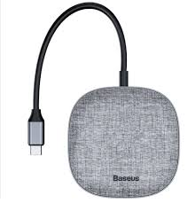 <b>Baseus</b> Adapter Fabric Series <b>7 in</b> 1 Type-C To 2USB3.0 + HDMI + ...