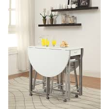 white kitchen dining room sets you ll love wayfair allensby 3 piece counter height dining set