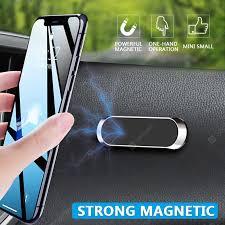 Magnetic Car Phone Holder Dashboard Mini Strip Shape Stand for ...