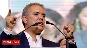 Colombia's <b>new</b> president Iván Duque: Puppet or <b>rock star</b>? - BBC ...